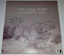 THE CIVIL WARS Signed TRACKS IN THE SNOW Album Joy Williams John Paul White GAI
