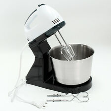 Electric Hand Mixer 7Speed Egg Cake Dough Blender Tool With Stainless Steel Bowl