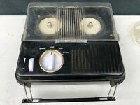 Vintage 1964 OMGS Miny 777 Reel to Reel Portable Transistor Tape Recorder