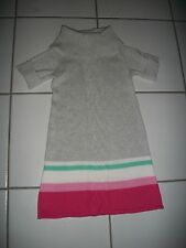 Nwt Gymboree Girl 5 Sweater Dress Colorblock Turtle Neck Gray Pink Green Easter