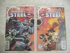 "Convergence Series Superman ""Man of Steel"" Regular Issues 1 & 2 Complete"