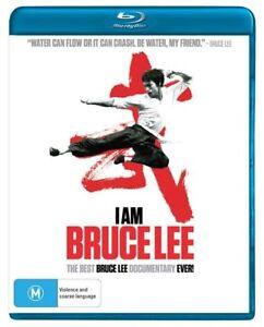 I Am Bruce Lee Bluray Documentary Brand New &Sealed Plays Worldwide REGION A,B,C