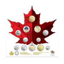 150 CIRCULATION COLLECTION 2017 Canada Coin Set with Glow in the Dark $2 Toonie
