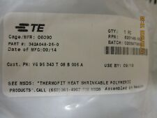 342A048-25-0 Amp/Tyco Boot Molded Elast Fluid Resistant Brand New!