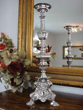 Kirchenleuchter Silber Antik Barock Kerzenleuchter Kerzenhalter Kerzenständer