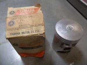 YAMAHA NOS/OEM 1ST O/S .25 .010 PISTON DT125 DT 125 C 560-11635 1976