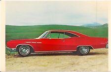 1968 Buick Le Sabre Custom Sport Coupe Automobile Advertising Postcard