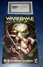 WARFRAME #1 signed NYCC variant exclusive MATT HAWKINS iMAGE TOP COW comic COA