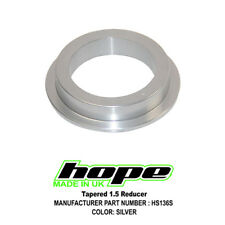 """Hope Tapered 1.5"""" Reducer - Reduces 1.5"""" to 1-1/8"""" - Silver - Brand New"""