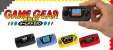 SEGA Game gear 30th anniversary MICRO BLUE Big Window Blue Red Yellow Black 2020