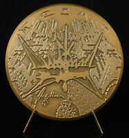 Medal Georges Mathieu Charles le Batwing Modern Art Abstract Abstract Medal