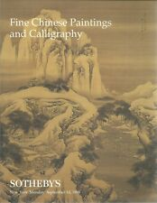 SOTHEBY'S CHINESE PAINTINGS CALLIGRAPHY Lin Fengmian Zhang Daqian Catalog 1998