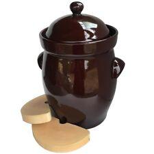 New 20L Boleslawiec Fermenting Crock Pot for Sauerkraut and Kimchi