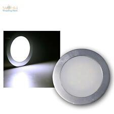 5er Set LED Bodeneinbaustrahler weiß SLIM Bodenleuchte Einbaustrahler Fußboden