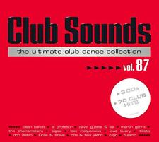 CLUB SOUNDS,VOL.87  3 CD NEU