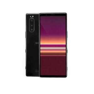 Sony Xperia 5 128GB Dual-SIM schwarz ohne Simlock - Zustand akzeptabel