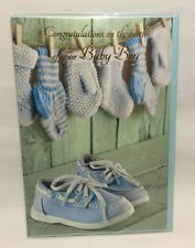 Greeting Card Congratulations On The Birth Of Your Baby Boy