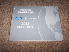 2013 Ford Edge Electrical Wiring Diagram Manual SE SEL Limited Sport 3.7L V6