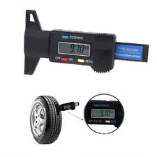 LCD 0-25mm Digital Depth Gauge Tyre Tread Electronic Micrometer Measure