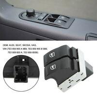 For VW Transporter T5 T6 Multivan Caravelle Electric Window Double Switch Button