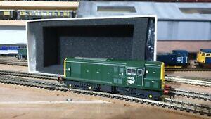 HELJAN CLASS 15 TYPE 1 DIESEL LOCO  D8229 BR GREEN DCC Fitted 00 gauge