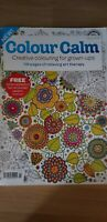 2 X Adult Colouring Books Colour Calm 116 Pages Of Relaxation