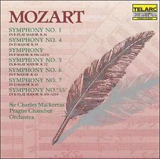 "Mozart: Symphonies Nos. 1, K.19a, 4, 5, 6, 7 & Symphony No. ""55"", New Music"