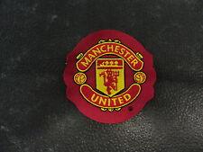 manchester utd vintage woven badge (refmu2)