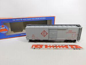 CO321-1# AHM (Pola Maxi) Spur 0/DC 7303 US-/USA-Box Car Erie Lackawanna NEUW+OVP