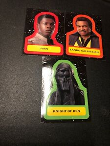 2019 Star Wars The Rise of Skywalker Stickers #CS-18 Knight of Ren Finn Lando