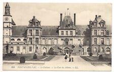 palais de fontainebleau   le chateau la cour des adieux