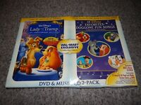 Disney's LADY AND THE TRAMP 50th Anniversary Edition 2 DVD + Music CD Exclusive