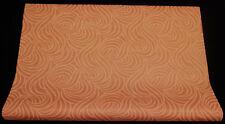 3860-13-4) 5 Grossrollen Vliestapeten modernes Design orange terra gold glänzend