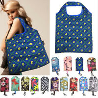 New Foldable Handy Shopping Bag Reusable Tote Pouch Eco Recycle Storage Handbags