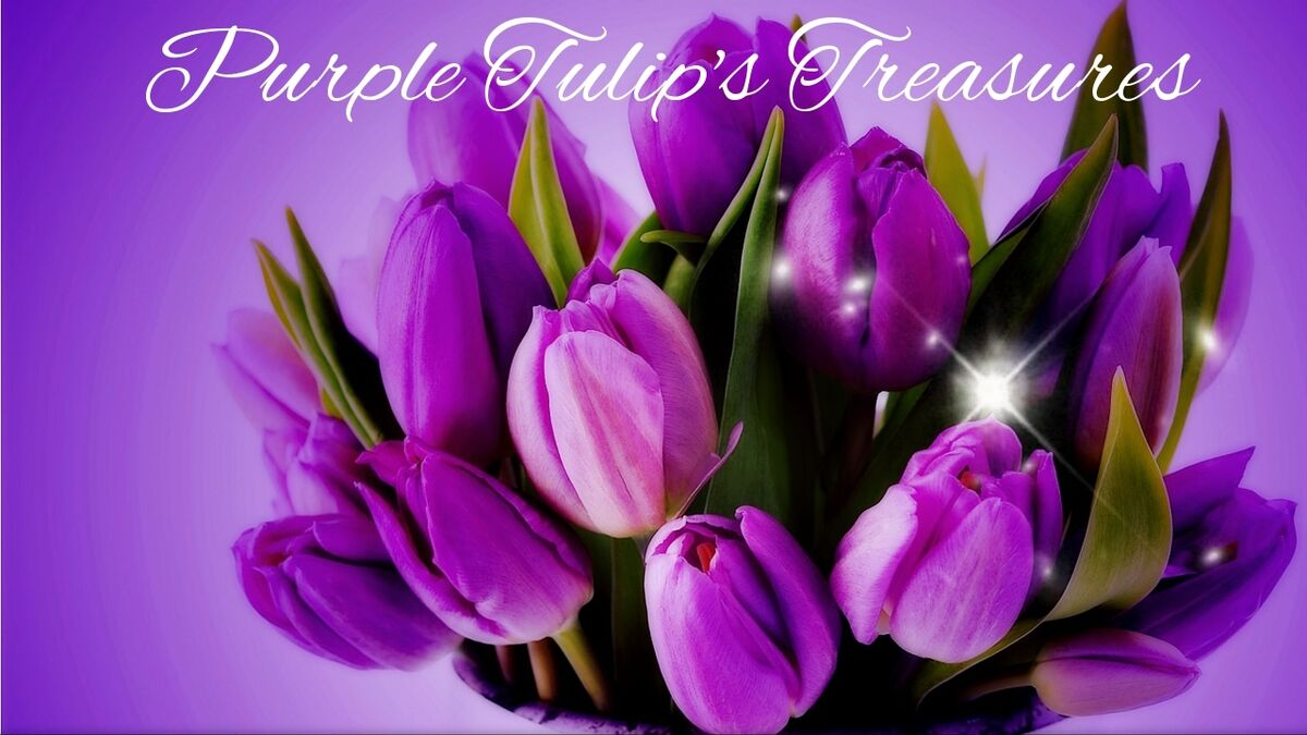 Purple Tulip's Treasures
