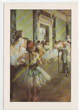 CP Postcard HILAIRE GERMAIN EDGAR DE GAS dit DEGAS La classe de danse