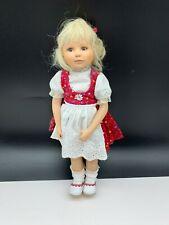 Gabriele Müller Künstlerpuppe Porzellan Puppe 29 cm. Top Zustand