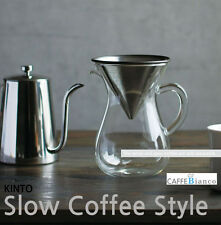 [Kinto] Slow Coffee Stainless Steel Filter (10 oz / 300ml)