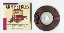 Vintage ANN PEEBLES 3-INCH cd-maxi 1988 MCA 4-track I CAN'T STAND IN THE RAIN