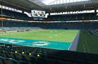 2 Tickets Houston Texans  @ Miami Dolphins  Sec-102 Row-8 Nov 7 2021