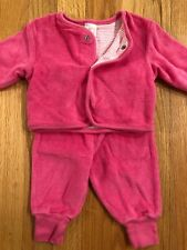 Baby Gap Newborn 12-17pds Pink Terry Outfit
