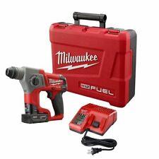 "Milwaukee 2416-21XC 5/8"" M12 FUEL SDS Plus Rotary Hammer Kit"