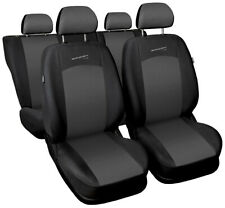 Seat covers fit Ford Focus Mk1 Mk2 Mk3 Mk4 FULL SET  black / grey sport line
