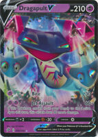1x Dragapult V 092/192 Rebel Clash Ultra Rare Pokemon Card