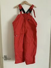Togz 3-4 Years Red Boys Or Girls Waterproof salopettes Trousers Dungarees