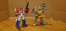 Transformers Masterpiece Custom Painted Cel-Shaded lot of 2 - O Prime + Grimlock