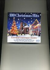 100 CHRISTMAS HITS - DEAN MARTIN BING CROSBY FRANK SINATRA - 4 CDS - NEW!!