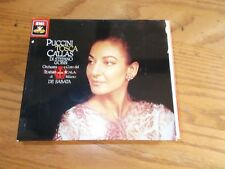 MARIA CALLAS GIACOMO PUCCINI 2 DISC CD BOX SET TOSCA