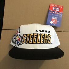 YOUTH Vtg NWT Pittsburgh Steelers Sports Specialties Shadow Snapback Hat Cap 90s