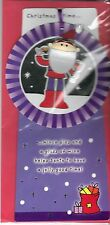 Christmas Cards 10 x 5 Christmas Time 3d Santa Ornament and Card UK Import
